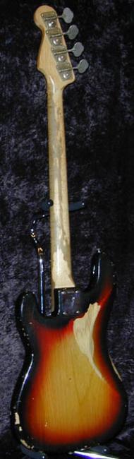 Vintage von 1978 Fender Original Messing String Tree Retainer Precision Bass